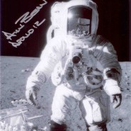 Alan Bean Autographed EVA Print