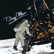 Buzz Aldrin Autographed Print