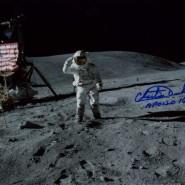 Charlie Duke Autographed Moonwalk Print 2
