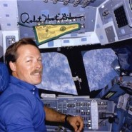 Hoot Gibson STS-27 Autographed Print