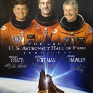 US Astronaut Hall Of Fame Class of 2007 Autographed Commemorative Poster