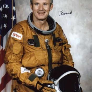 Vance Brand Autographed Official NASA Portrait