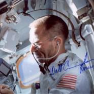 Walt Cunningham Autographed Print
