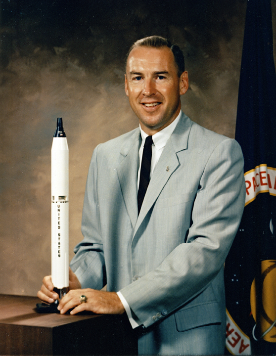 James Lovell Gemini XII Astronaut Portrait