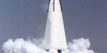 DC-X/A Launch (Courtesy of NASA)