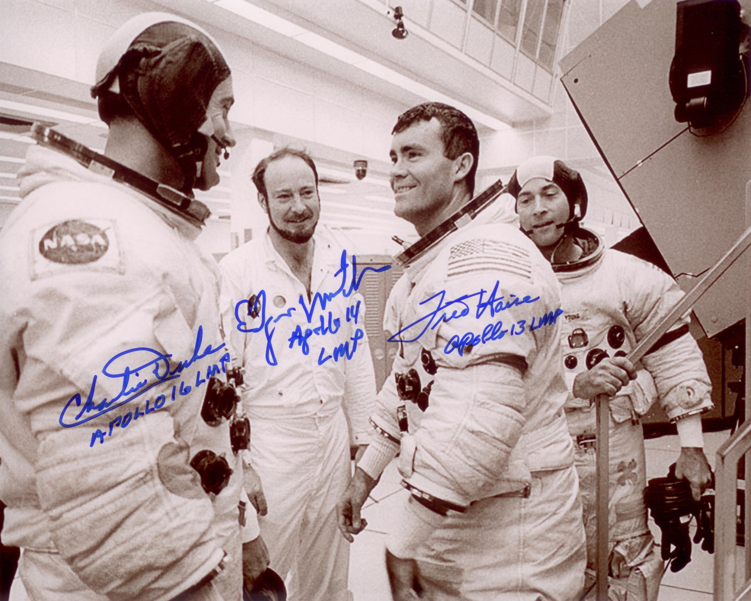 Apollo 16 Multi-signed Print | Astronaut Scholarship ...
